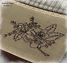 Taštičky - kvetinková - 4477864_