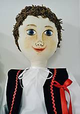Hračky - (bábika textilná veľká) Juro na želanie - 4478889_