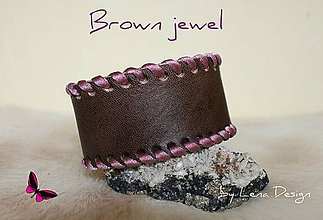 Náramky - Brown Jewel - 4483287_