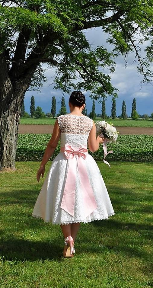 571349063333 Wintage svadobné šaty slečny A.   mara.zb - SAShE.sk - Handmade Šaty