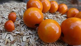Sady šperkov - Zatúlané pomaranče sada 2v1 - 4479479_