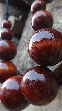 Náhrdelníky - Molekuly s vôňou škorice ... - 4480832_