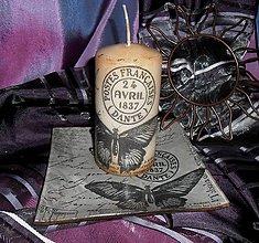 Svietidlá a sviečky - tanierik so sviečkou I. - 4482163_