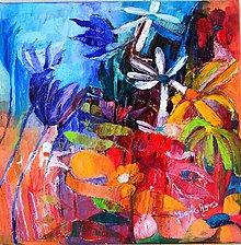 Obrazy - Divoké kvety 1 - 4485574_