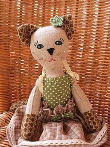 Bábiky - mačička  - Micka - 4488983_