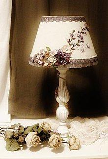 Svietidlá a sviečky - !!!PREDANÁ!!!,,,Na želanie,,Kvety zo stratených záhrad,,, - 4491283_