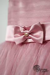 Detské oblečenie - Šaty pre malé princezné s tylovou sukničko a bolerkom u - 4490596_