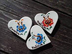Magnetky - Srdiečko Slovakia/ornament II. - 4490086_