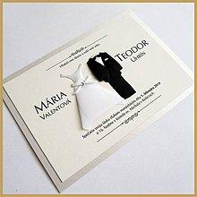 Papiernictvo - Svadobné oznámenie ~Wedding II.~ - 4489842_
