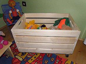 Nábytok - Úložný box na hračky. - 4490602_