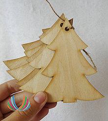 Polotovary - Drevený stromček II, ihneď - 4489027_