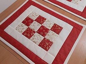 Úžitkový textil - vianočné prestieranie do kuchyne - 4494663_