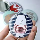 Zrkadielko do kabelky (mackovia, zajkovia a líšky)