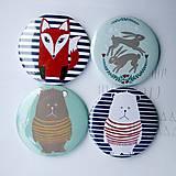 Zrkadielka - Zrkadielko do kabelky (mackovia, zajkovia a líšky) - 4491781_