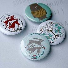Odznaky/Brošne - Odznaky 37mm (mentolové) - 4491832_