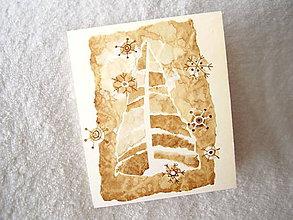 Papiernictvo - Pohľadnica, vianočné vločky - 4492402_