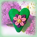 Kľúčenky - Kvitnúce srdce - 4494444_