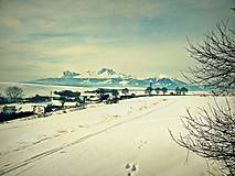 Fotografie - ☃ Zimná krajina - 4496920_