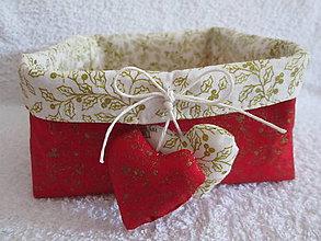 Dekorácie - druhý červený vianočný... - 4496640_