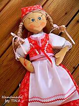 Úžitkový textil - Šikovná bábika - 4496042_