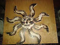 Dekoratívne slniečko na stenu