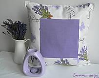 Úžitkový textil - Levandulový vankúš II. - 4499771_