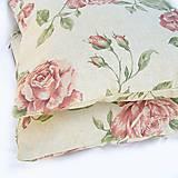 Úžitkový textil - Obliečky Ruže - 4501867_