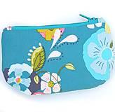 Peňaženky - Tyrkysová peňaženka - 4502025_