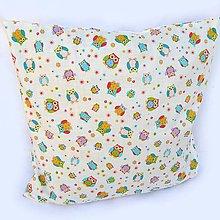 Textil - Obliečka Sovičky - 4502284_