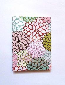 Papiernictvo - Kytica kvetov - 4500982_