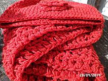 Čiapky - set červeno trblietavý...:) - 4499417_