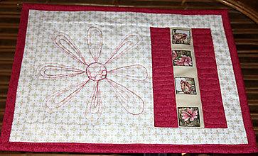 Úžitkový textil - Patchworkové prestieranie - 4500867_