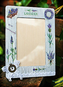 Rámiky - Fotorámček Lavender - 4499772_
