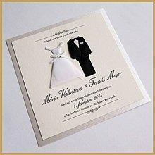 Papiernictvo - Svadobné oznámenie ~Wedding Kocka~ - 4502219_