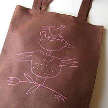 Nákupné tašky - PTÍÍÍCE - taška nákupka - 4507380_