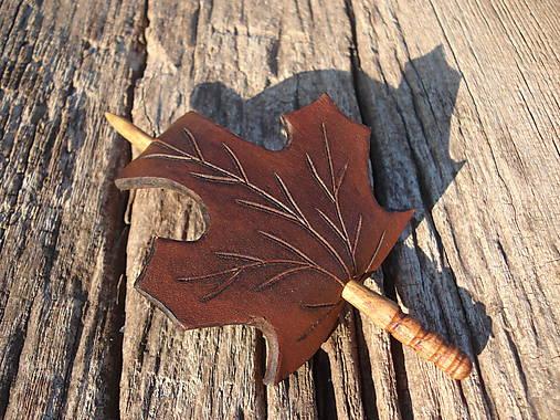 Listová spona javorová - malá