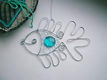 Dekorácie - ryba modrá - 4507562_