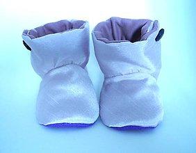 Topánočky - Teplé papučky - 4507891_