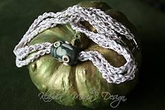 náhrdelník valec