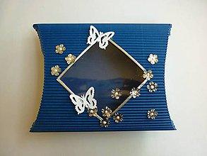 Drobnosti - Modrá krabička - 4507753_