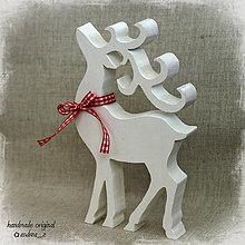 Dekorácie - vianočný - biely - 4509561_