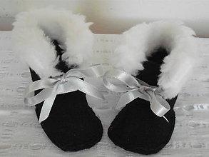 Topánočky - Elfík IV. - detské topánočky - capačky - 4509239_