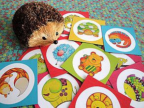 Hračky - Veselé magnetky 12ks - 4515547_