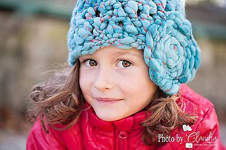 Detské čiapky - Handspun homeless - 4512219_