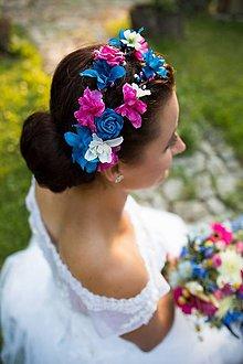 Ozdoby do vlasov - svadobný  dvojvenček \