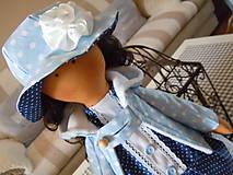 Bábiky - Modrý párik - 4520926_
