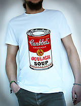Tričká - cambell´s soup farebne - 4517987_