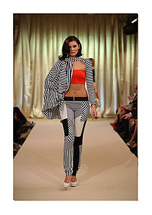 Nohavice - Brooklyn stripes - 4518109_