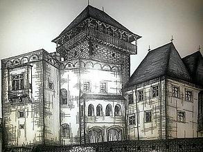 Kresby - Trenčiansky hrad na objednávku - 4517239_