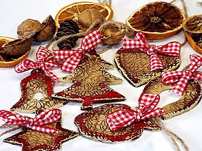 Dekorácie - Vianočné dekorácie - 4519067_